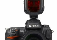 Nikon Speedlight SB-910 DSLR Flash on camera front