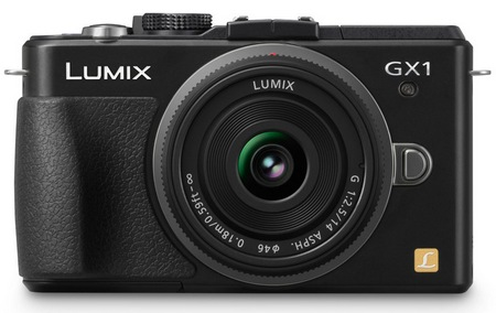 Panasonic LUMIX DMC-GX1 Micro Four Thirds Camera black