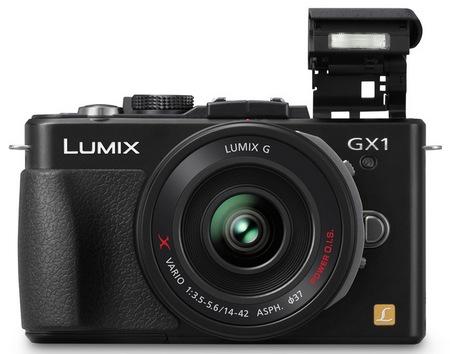 Panasonic LUMIX DMC-GX1 Micro Four Thirds Camera flash
