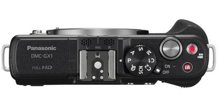 Panasonic LUMIX DMC-GX1 Micro Four Thirds Camera top