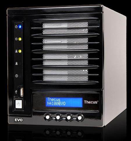Thecus N4100EVO 4-Bay NAS powered by Dual-core Cavium Processor 1