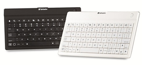 Verbatim Ultra-Slim Bluetooth Mobile Keyboard for Tablets colors