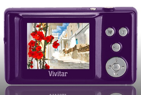 Vivitar ViviCam T135 3D Digital Camera back