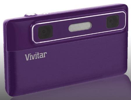 Vivitar ViviCam T135 3D Digital Camera
