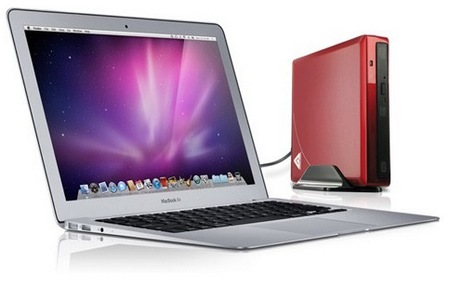 Apricorn Aegis NetDock Mac Edition with macbook air