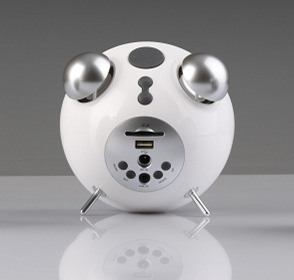 Edifier Tick Tock Bluetooth Speaker Alarm Clock white