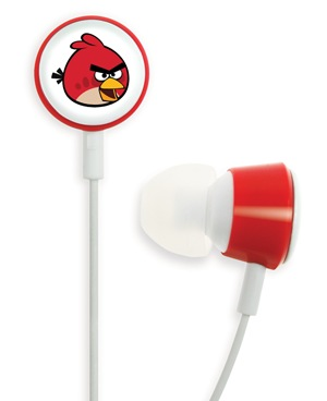 Gear4 Angry Birds Tweeters - the Official Angry Birds Headphones red bird