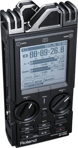 Roland R-26 Portable Audio Field Recorder