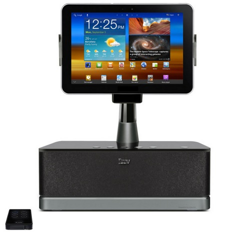 iLuv ArtStation Pro iSM524 Audio Dock for Samsung Galaxy Tabs front