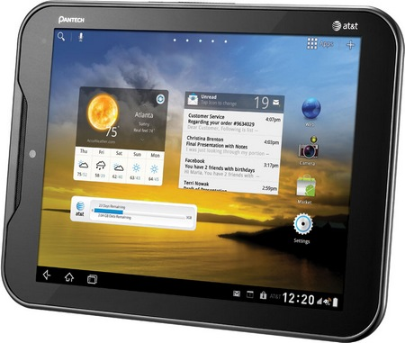 AT&T Pantech Element Waterproof LTE 4G Android Tablet
