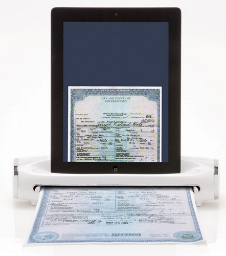 Brookstone iConvert Scanner Transforms your iPad into Scanner 1