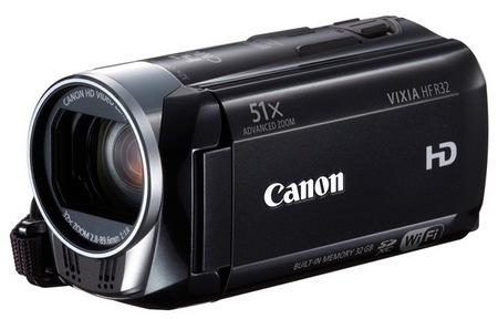 Canon VIXIA HF R32, VIXIA HF R30 and VIXIA HF R300 Full HD Camcorders with 51x Advanced Zoom 1