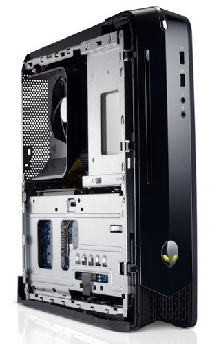 Dell Alienware X51 Gaming Desktop in Small Form Factor inside look