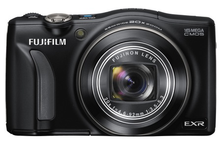 FujiFilm FinePix F770EXR with GPS Compact 20x zoom camera
