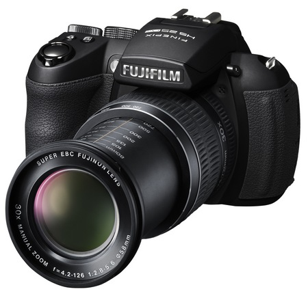 FujiFilm FinePix HS30EXR and HS25EXR Cameras with 30x Optical Zoom lens out