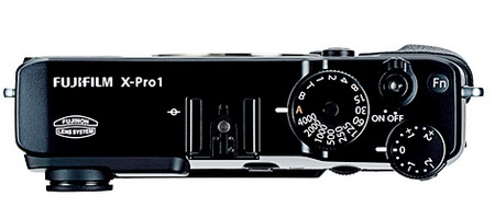 FujiFilm X-Pro 1 Interchangeable Lens Digital Camera top
