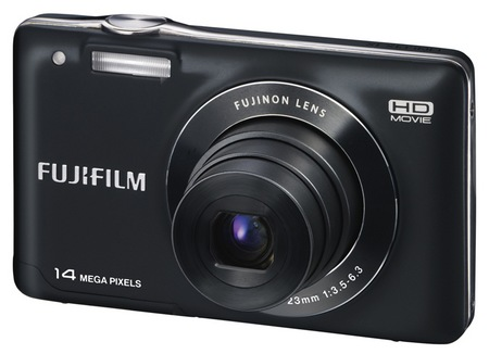 Fujifilm FinePix JX500 Digital Camera Front Left