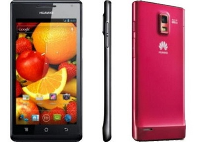 Huawei Ascend P1 S and Ascend P1 Ultra Thin Smartphones 2
