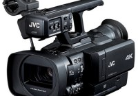 JVC GY-HMQ10 - The World's First Handheld 4K Camcorder
