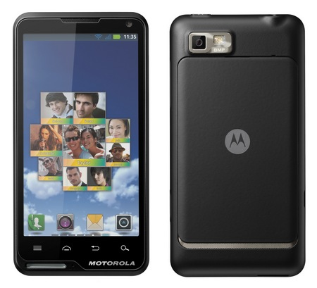 Motorola MOTOLUXE XT615 Slim Android Smartphone with 4-inch Touchscreen 1