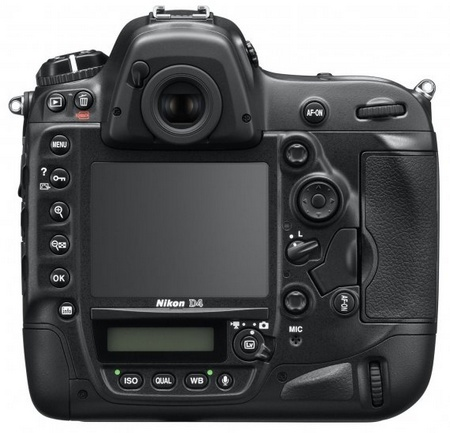 Nikon D4 Digital SLR back