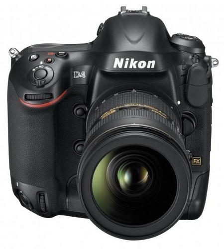 Nikon D4 Digital SLR front 1