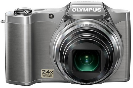 Olympus SZ-12 Compact Long Zoom Camera silver
