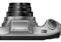 Olympus SZ-12 Compact Long Zoom Camera top
