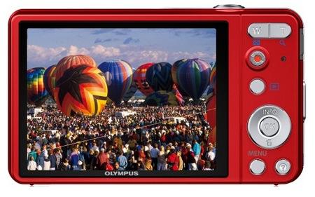Olympus VG-160 Budget-friendly Digital Camera red back