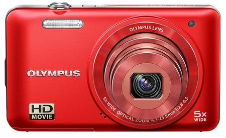 Olympus VG-160 Budget-friendly Digital Camera red