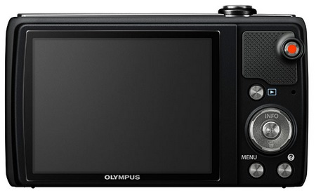 Olympus VR-340 Camera with 10x Optical Zoom back