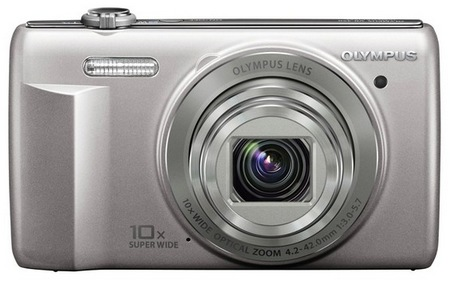 Olympus VR-340 Camera with 10x Optical Zoom silver