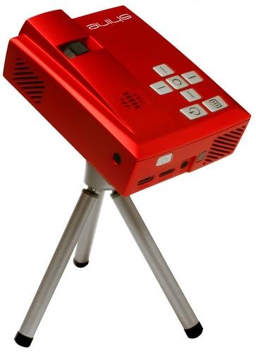 Velocity Micro Shine 720p HD Pocket Projector with tripod