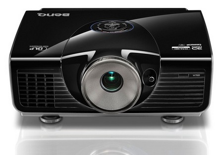 BenQ W7000 Full HD 3D Home Cinema Projector front