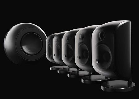 Bowers & Wilkins MT-60D Mini Theater black