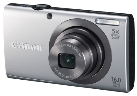 Canon PowerShot A2300 digital camera silver