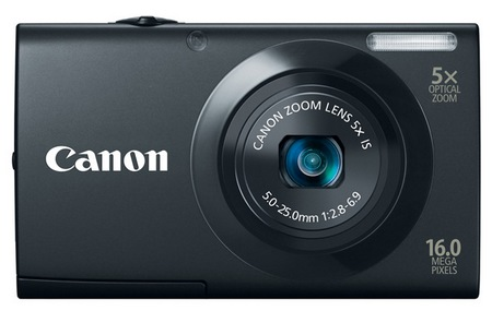Canon PowerShot A3400 IS digital camera black