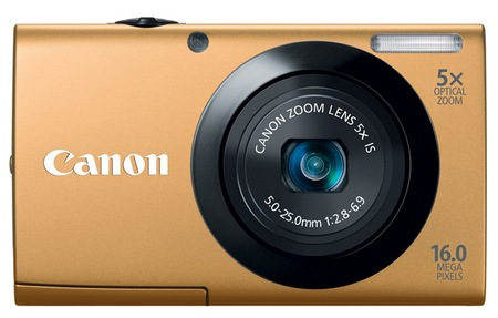 Canon PowerShot A3400 IS digital camera gold