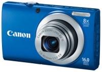 Canon PowerShot A4000 IS digital camera blue
