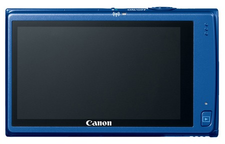 Canon PowerShot ELPH 320 HS Digital Camera blue back