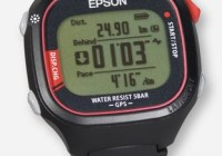 Epson announced the World's Lightest GPS Watch