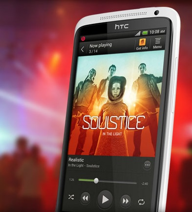 HTC One X Smartphone powered by Quad-core Tegra 3 music