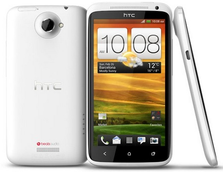 HTC One X Smartphone powered by Quad-core Tegra 3 white