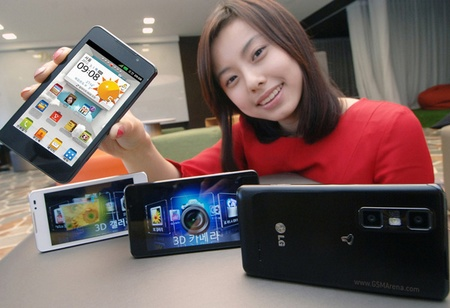 LG Optimus 3D Cube Smartphone