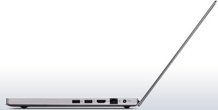 Lenovo IdeaPad U300e Ultrabook side