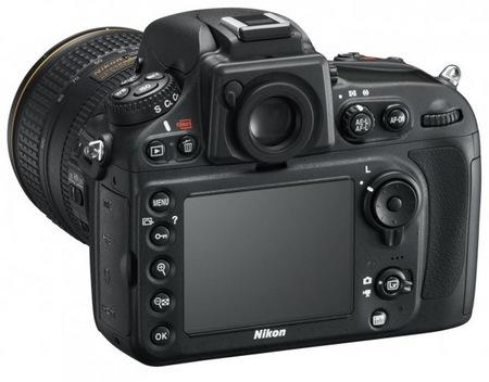 Nikon D800 and D800E 36.3 Megapixel FX-Format DSLRs back