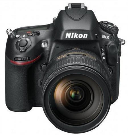 Nikon D800 and D800E 36.3 Megapixel FX-Format DSLRs front