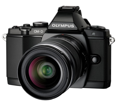 Olympus OM-D E-M5 Micro Four Thirds Camera black