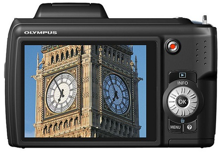 Olympus SP-620UZ Ultra-Zoom Camera is Budget-friendly back