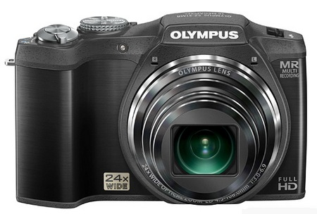 Olympus SZ-31MR iHS Camera with 24x Long Zoom black